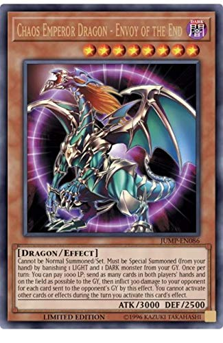 Amazon.com: Chaos Emperor Dragon – Enviado de The End JUMP ...