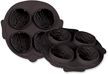 M197 Brain Halloween  Chocolate Candy Mold w//instructions