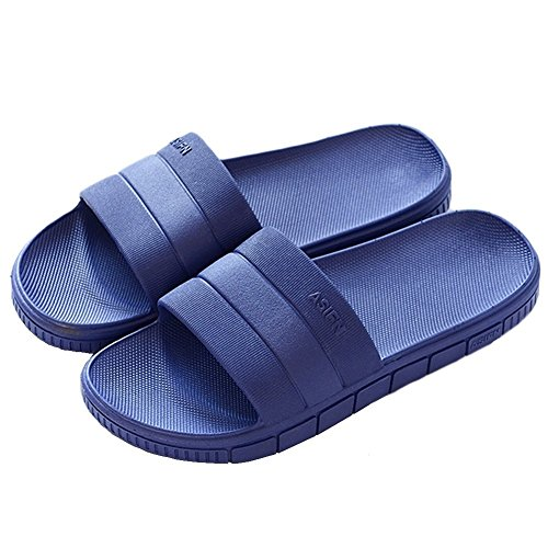 Shower Women House A Minetom® Flip Shoes Mule Bathroom Soft Slip Pool Non Blue On Indoor Sole Flop Slippers Slip Water Sandals Men Men Unisex Outdoor qn8Crvdw8B