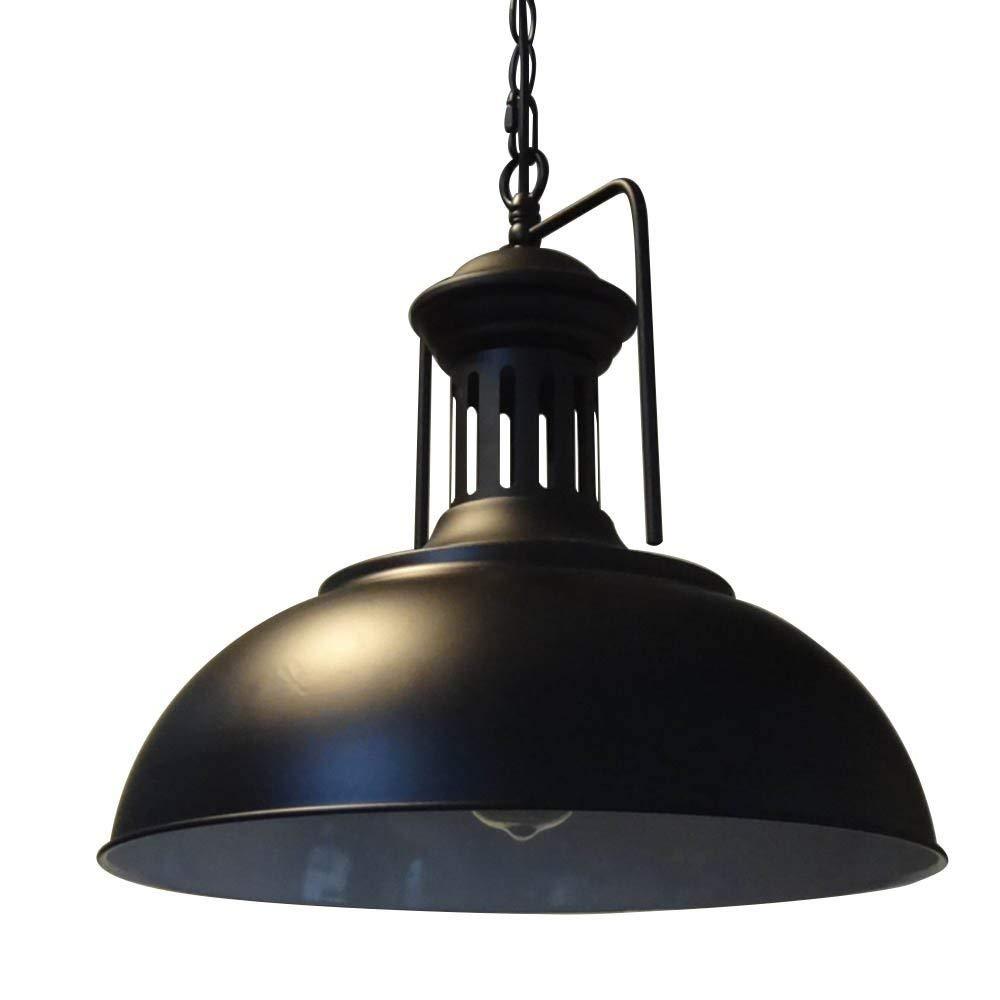 Kronleuchter, E27 American Industrial Style Kronleuchter Retro Beleuchtung bar Bar Cafe Restaurant Kronleuchter aus Eisen Decken lampen Φ 41,5 cm  H 130 cm [Energie Klasse A]