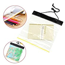 CoCocina PVC Clear Transparent Waterproof Map GPS Phone Case Cover Pouch Document Holder