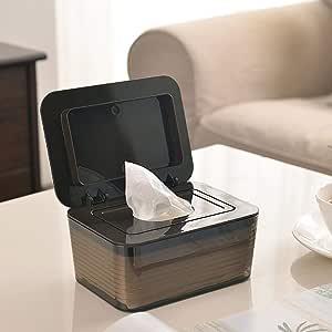 Peitten Dispensador de toallitas húmedas para bebés Dispensador de toallitas para pañales para bebés Estuche portátil de Papel tisú húmedo y seco Contenedor para toallitas para bebés con Tapa: Amazon.es: Hogar