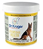 Dr. Kruger's Supplement Everyday Health for Dogs, 10-Ounce Plastic Jar Review