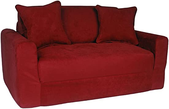 Micro Suede Sofa Sleeper - Excellent For Children