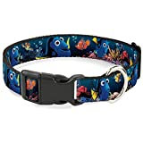 Best Buckle Down Friends For Dogs - Buckle-Down PC-WDY275-S Dog Collar Plastic Clip Buckle, Dory Review