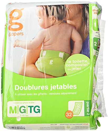 gDiapers Flushable Refills - Medium/Large  - 32 Count