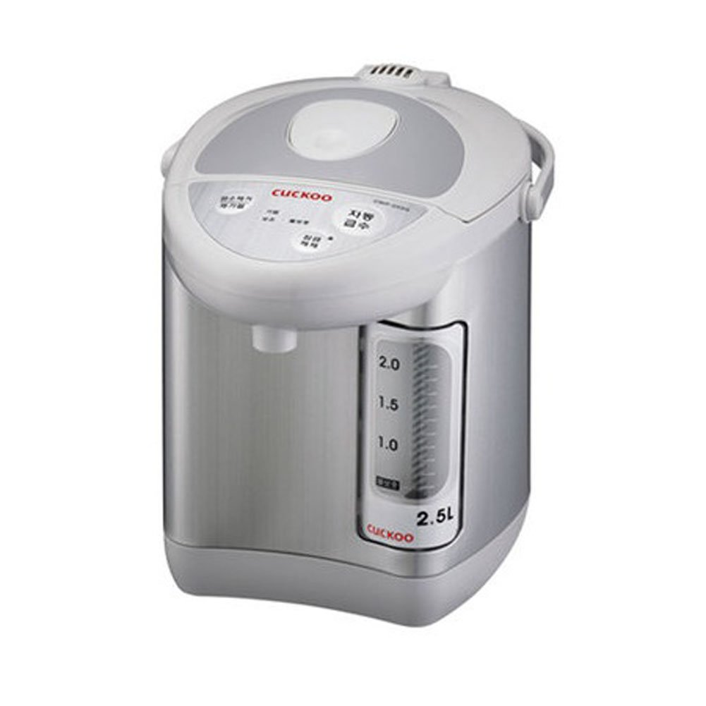 CUCKOO CWP-253G 2.5L Electric Thermal insulation port Tea Pot Flourine Coated Stainless Water Tank 220V