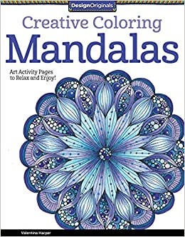 Printable Coloring Book - Intricate Coloring Mandalas. Get creative and  relax coloring these cute pages!