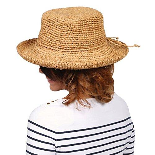 [Dorfman Pacific Ladies Scala Raffia Hats] (Straw Farmer Hats)