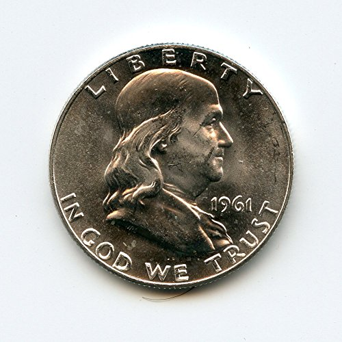 1961 D Franklin Half Dollar MS-64