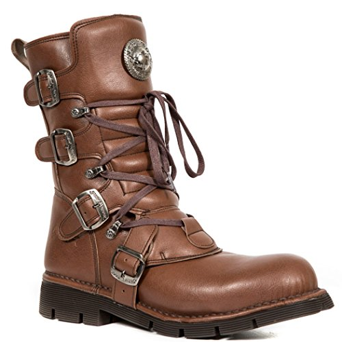 NEWROCK NR M.1473 V2 Brown - New Rock Vegan Boots - Unisex h87E4lOO