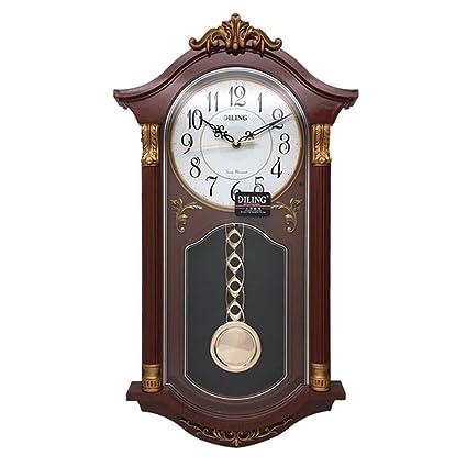 MRDEER Reloj De Pared Retro Reloj Vintage Reloj De Péndulo Relojes Antiguos De Campana Accesorios para