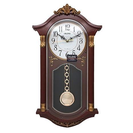 MRDEER Reloj De Pared Retro Reloj Vintage Reloj De Péndulo Relojes Antiguos De Campana Accesorios para ...