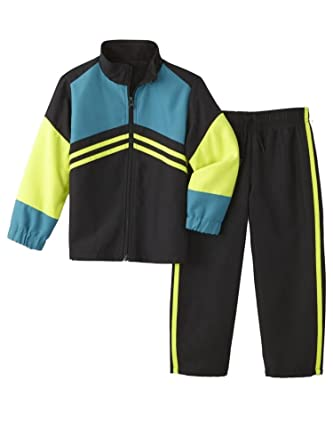 be69c7cea Amazon.com  Toughskins Infant Boys Baby Outfit Red Blue   Black ...