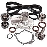 ECCPP Timing Belt W/ Water Pump Kit Hydraulic Tensioner For Hyundai Kia 2.4L L4 G4JS