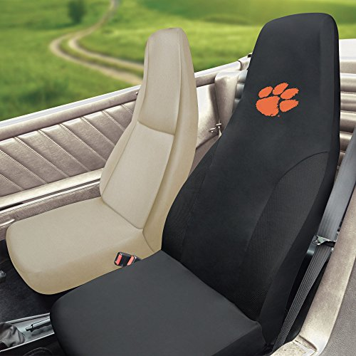 FANMATS NCAA Clemson University Tigers Polyester Seat Cover