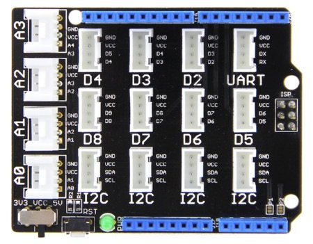 Grove base Shield for Arduino V2 from seeed studio