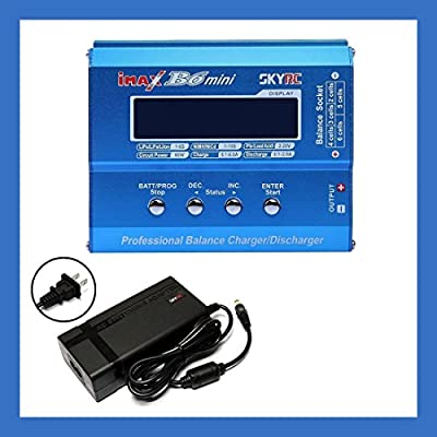 SKYRC iMAX B6 Mini Professional Balance Charger w/ Power Supply PSU-60W - Genuine