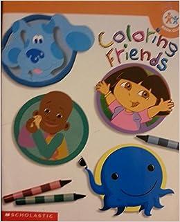 Coloring Friends (Coloring Friends Nick Jr.): Nickelodeon, Nick Jr ...