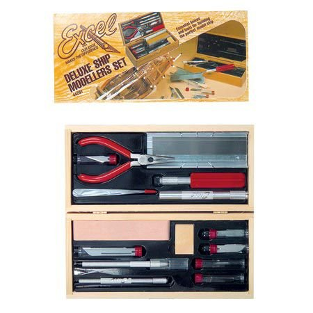 44291 Deluxe Ship modelers Tool Set ()