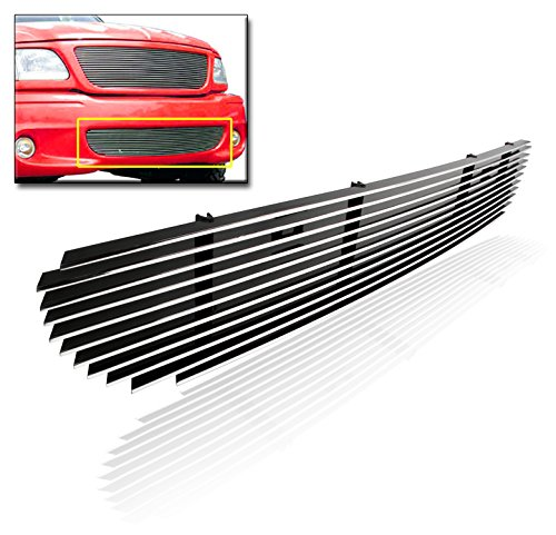 (ZMAUTOPARTS Bumper Billet Grille Grill Horizontal Style For 1999-2003 Ford F-150)