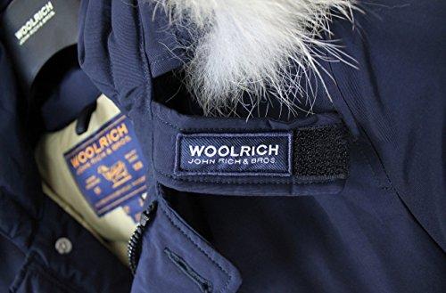 In Woolrich Cordura Arctic Wocps1674 Uomo Art Piuma D'oca Giaccone Parka Blu fZqAH