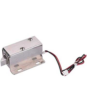 Bloqueo de válvula solenoide de Cierre de Puerta electrónico DC 12V Diseño simétrico ampliamente Utilizado Encendido