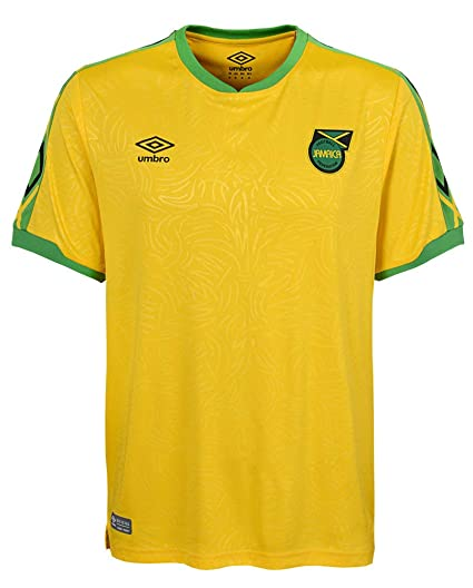 ad03aa7ba Amazon.com   Umbro 2018-2019 Jamaica Home Football Soccer T-Shirt Jersey    Sports   Outdoors