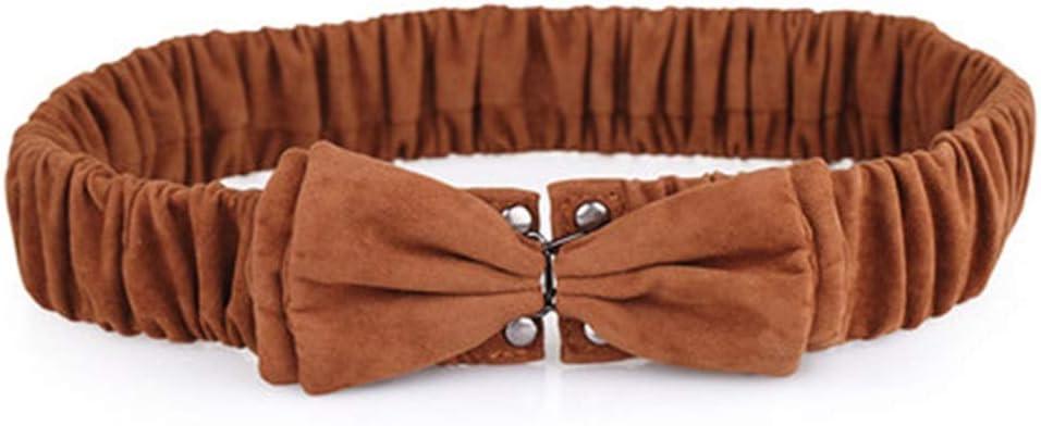 Sunbobo Cinturón de arnés para el Pecho del Cuerpo Cinturón de Cintura para Mujer Cinturón de Cintura para Mujer Elastic Wide Belt Cinturón de Cintura Correa de Cintura elástica Flaca