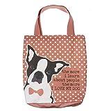 Purple Lemonade Canvas Dog Tote Bag – Love My Dog – Artwork by Ginger Oliphant