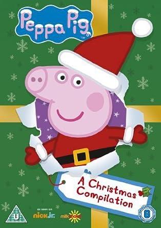 Christmas Pig.Peppa Pig A Christmas Compilation Volume 20 Dvd Amazon Co