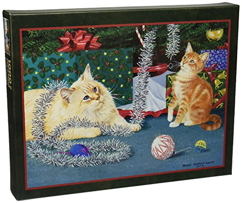 Lang Kitten Christmas by Persis Clayton Weirs Puzzle