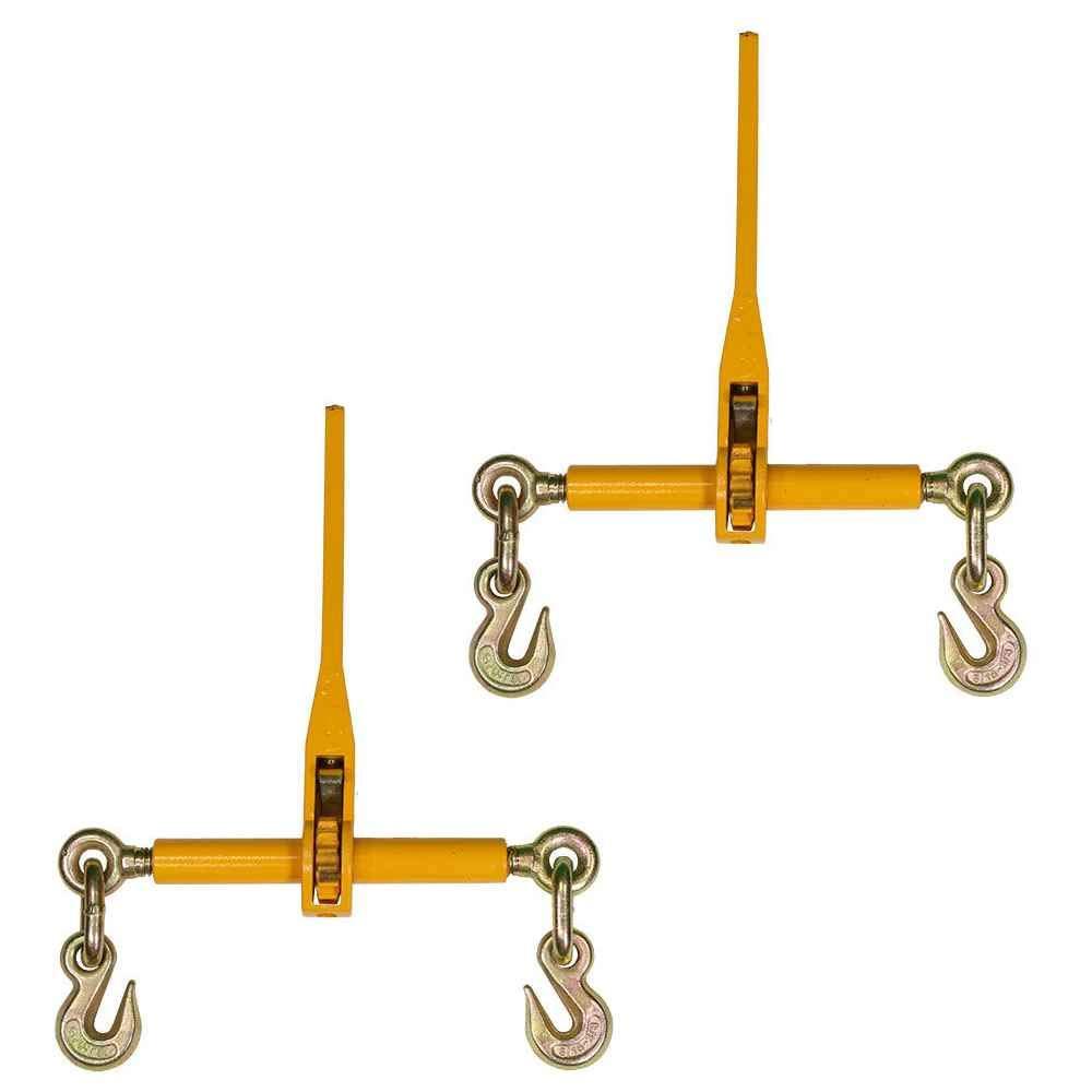 1/2 Inch 5/8 Inch Peerless Ratchet Binder Plus Loadbinder 2 Pack