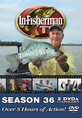 In-fisherman TV Season 36 (2011) 2 DVD Set