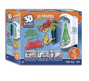 Cife Impresora Magica 3D DISEÑA EN 3 Dimensiones