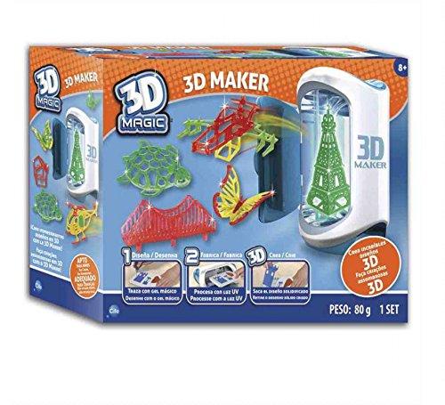 Cife Impresora Magica 3D DISEÑA EN 3 Dimensiones: Amazon.es ...
