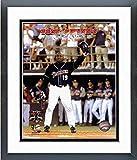 """Tony Gwynn San Diego Padres Final MLB Game Photo (Size: 12.5"""" x 15.5"""") Framed"""