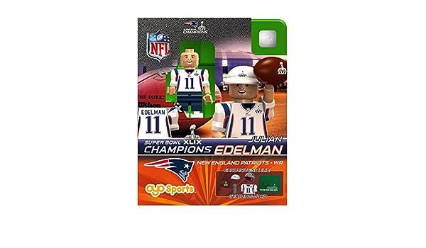 Amazon.com: Julian Edelman OYO NFL New England Patriots G2 Series 4 ...