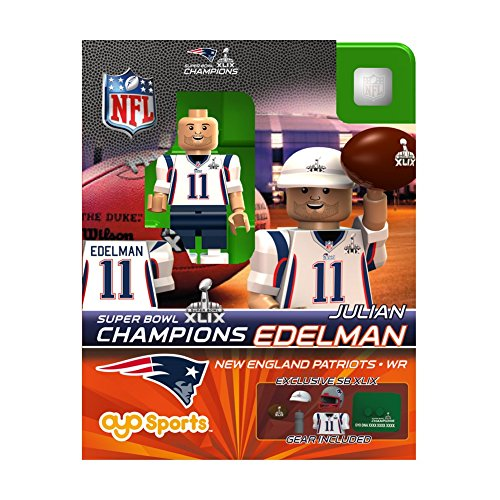 New England Hobby (Julian Edelman OYO NFL New England Patriots G2 Series 4 Super Bowl XLIX Champions Mini Figure Limited)