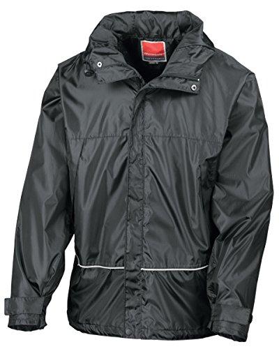 Result impermeable entrenador jacket-r155X negro