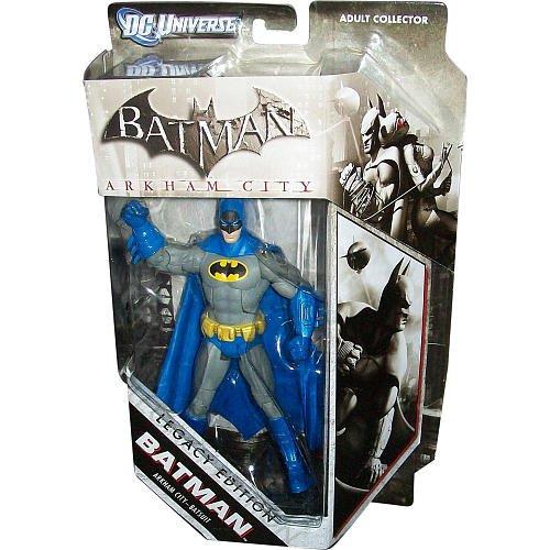 Mattel DC Universe Batman Arkham City Batsuit Legacy Edition