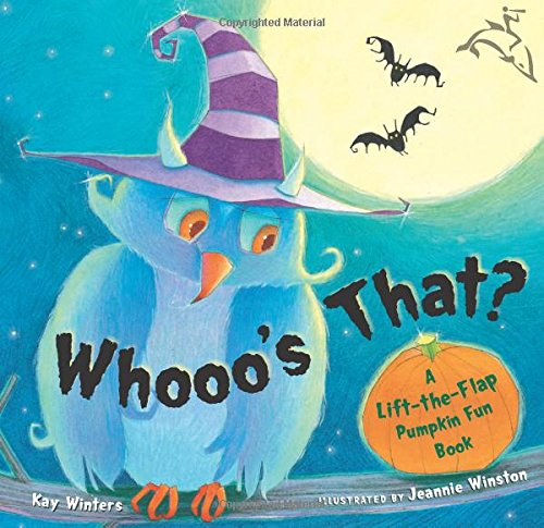 Whooo's That?: A Lift-the-Flap Pumpkin Fun (Fun Halloween Pumpkin Ideas)