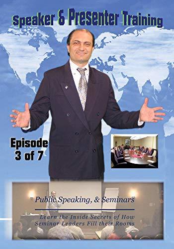 (Public Speaking, Seminar Speakers Speaking on Stage with Confidence & Power III)