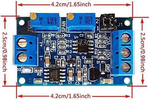 Etase M/ódulo de Corriente a Voltaje 0//4-20Ma a 0-3.3V 5V 10V Transmisor de Voltaje S08 Enviar Directo