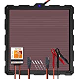 POWOXI-Upgraded-Solar-Battery-Charger-Maintainer, External Smart 3-Stages PWM Charge...