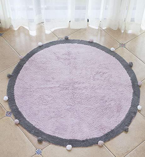 2019年春の コーラルベルベット ラウンド カーペット,赤ちゃん プレイマット ラウンド おなか プレイマット 時間マット diameter:120cm(47inch) 保護パッド 赤ちゃん 気 プレイマット ソフト ふわふわ 厚い ハイハイマット-pink diameter:120cm(47inch) diameter:120cm(47inch) pink B07QD1ZRR3, Asian Handmade House:47bbeee5 --- ciadaterra.com