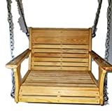 Cypress Porch Chair Swing, Larger Chair Swing, Super Swing, Larger Adult Swing For Sale