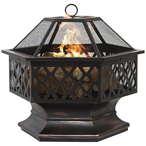 hex-shaped-fire-pit-outdoor-home-garden-backyard-firepit-bowl-fireplace-log-wood
