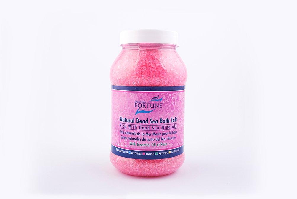 FORTUNE Dead Sea Natural Dead Sea Bath Salt (Blue) 500 g Fortune Cosmetics