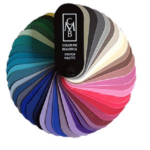 Color Me Beautiful Seasonal Swatch Fan - Color Me Beautiful Color Swatches